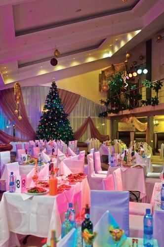 Новогодняя ночь 2014 в Атлас Парк-Отеле