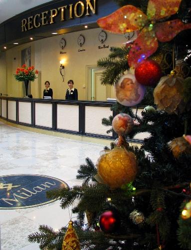 Где встретить Новый год? В гостинице Милан