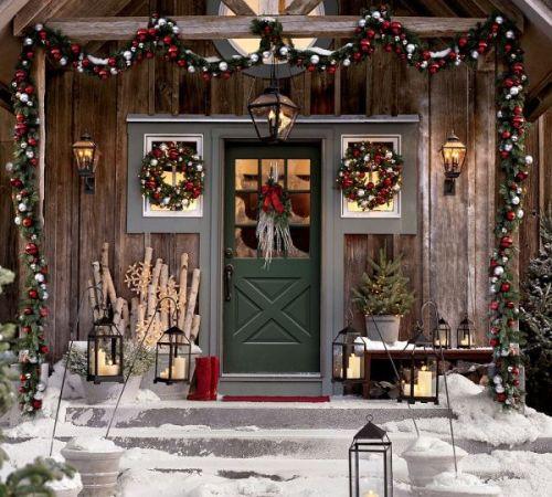 Как украсить дом к Новому году?