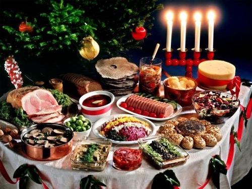 Украшения Праздничного Стола К Новому году