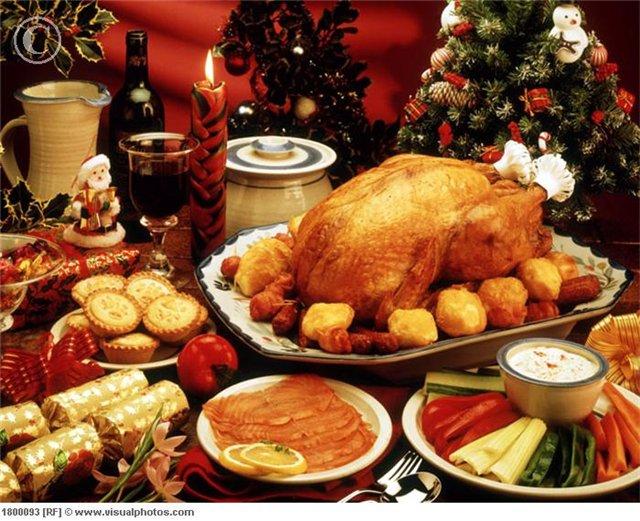 Рождественский ужин дома. Видео