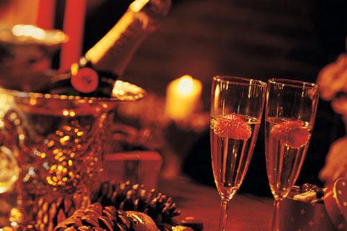 Новый год 2014 в Saloon в Яхт-клубе Новый Берег