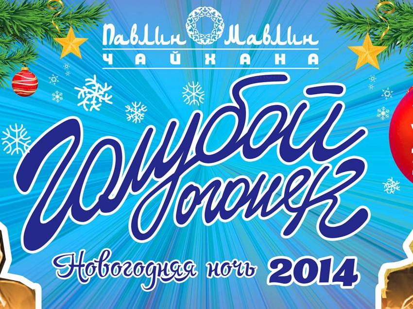 Новогодняя ночь 2014 в трех ресторанах Павлин Мавлин