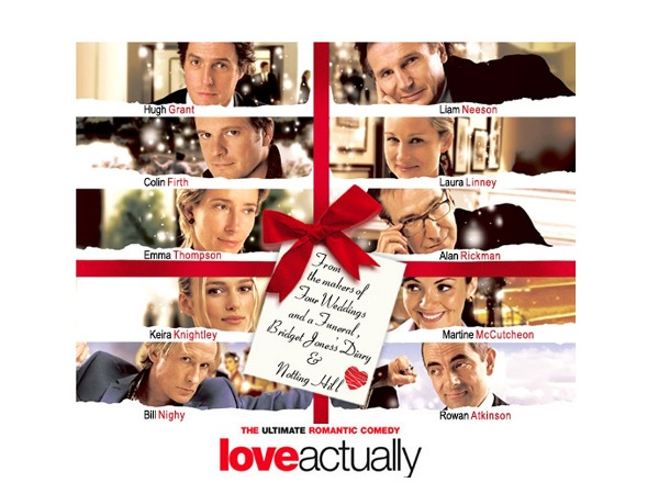 Новогодние мелодрамы: Реальная любовь