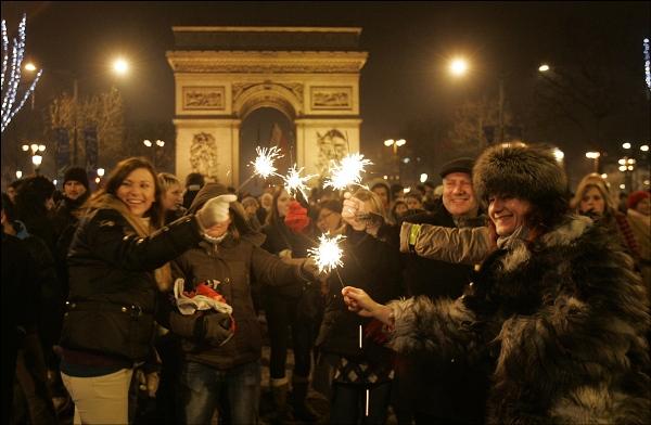 Как отмечают Новый год в других странах: Франция