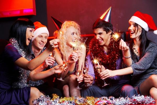 Новогодняя ночь с друзьями