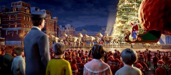 Новогодние зарубежные фильмы: Полярный экспресс