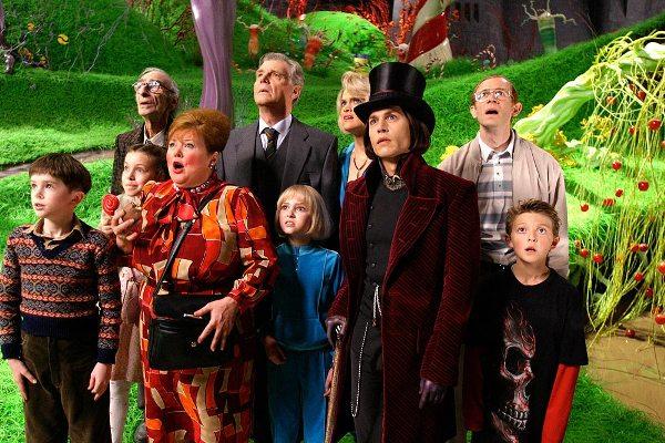 Новогодние зарубежные фильмы: Чарли и шоколадная фабрика