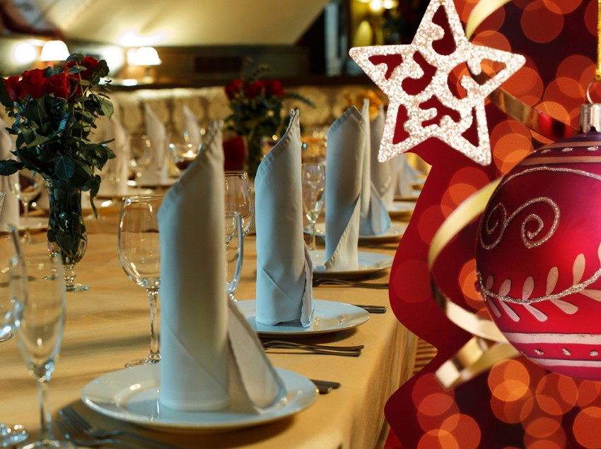 Новогодние корпоративы в ресторане-кабаре «НЭП»!