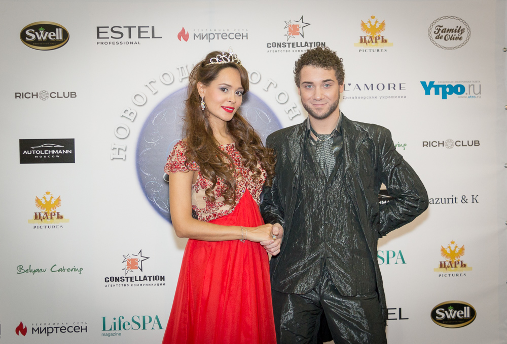 Анна Калашникова и Владимир Брилев