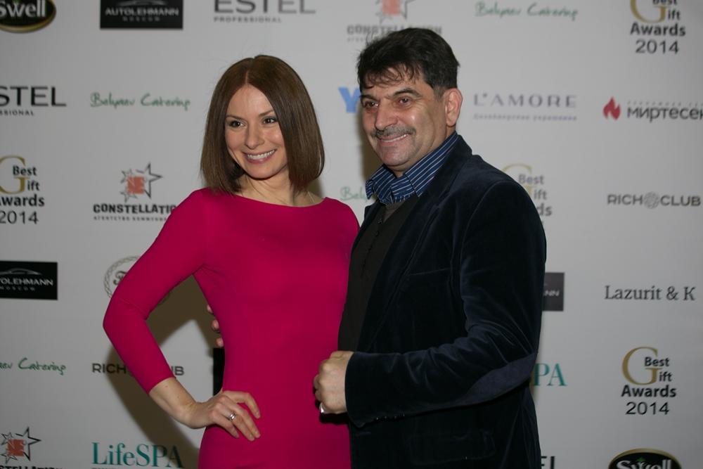 Ирина Лачина и Владимир Вишневский