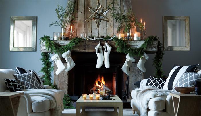 Вдохновляющие идеи яркого новогоднего интерьера4