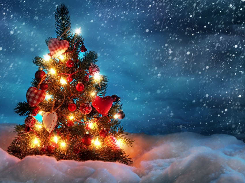 Новогодняя елка в ресторане «Пряности & Радости» на Посадской!