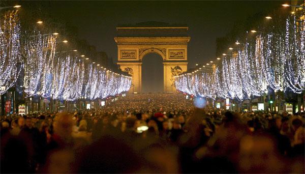 новый год во франции2