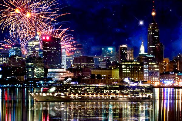 Как празднуют Новый год в США. Несколько интересных фактов американского Нового года.