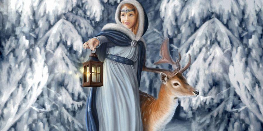 Снегурочка и ее секреты3