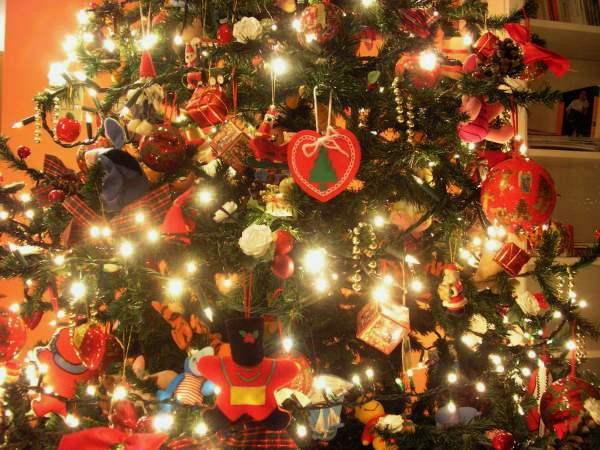 Варианты украшения новогодней ёлки Или 5 секретов успеха