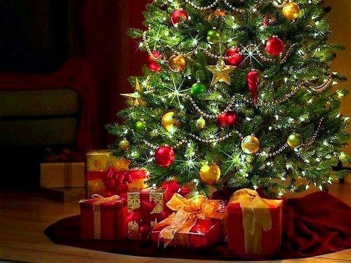 Варианты украшения новогодней ёлки Или 5 секретов успеха4