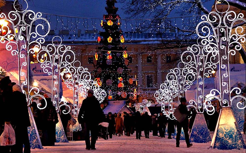 Где живет Рождественский дух ярмарочных гуляний Санкт-Петербурга1