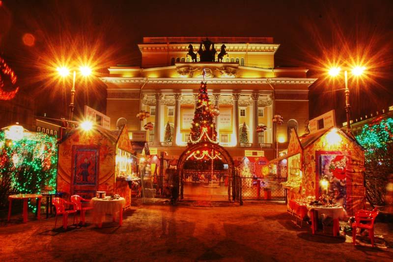Где живет Рождественский дух ярмарочных гуляний Санкт-Петербурга3