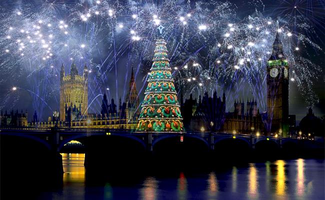 Новый год: английская версия