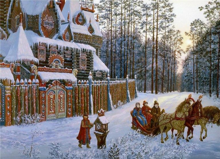 Новый год русская версия6