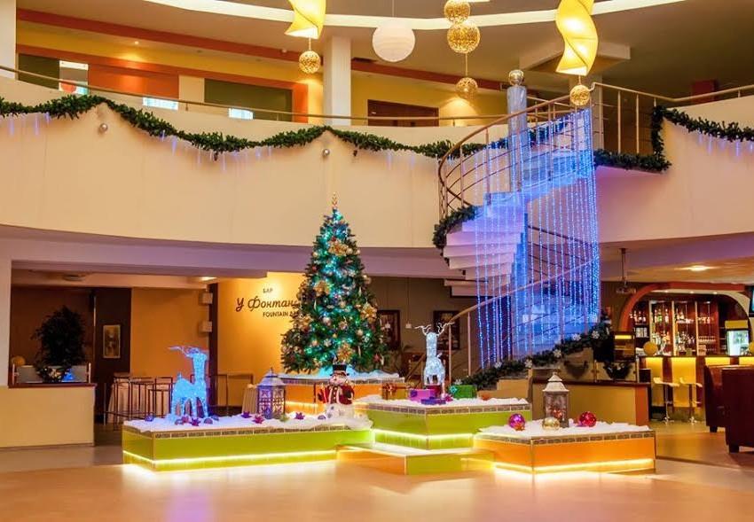 В отеле ПЛАНЕРНОЕ все готово к встрече Нового 2017 года!