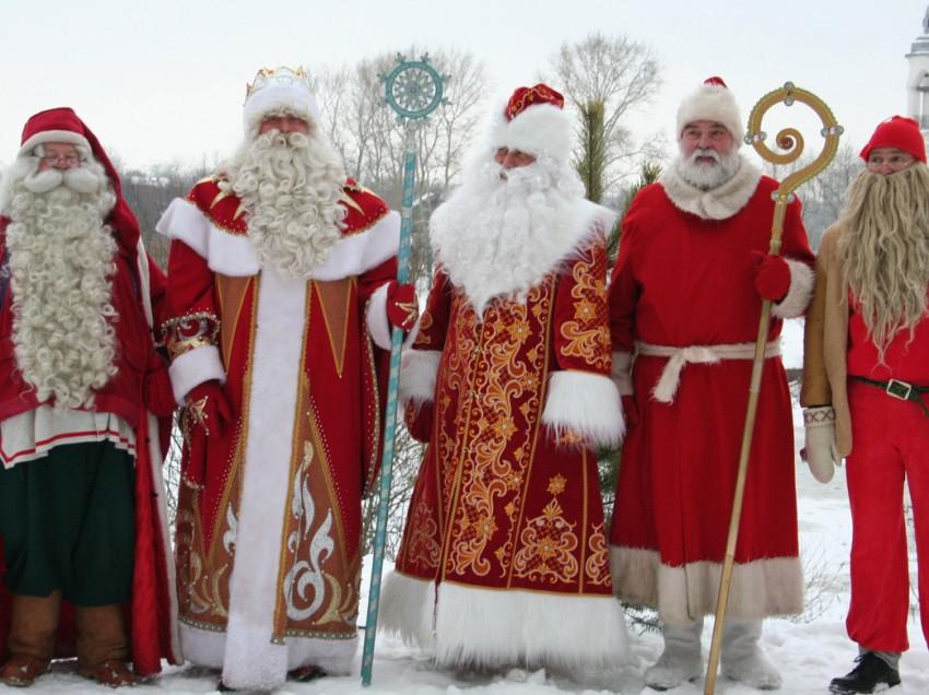 «Родственники» и коллеги Деда Мороза в разных странах