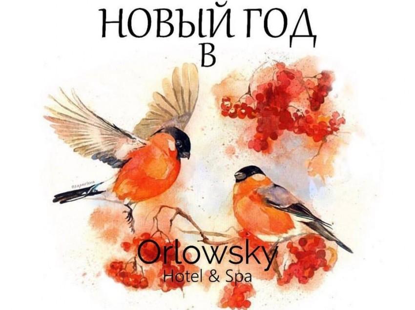 Новый год 2018 в Orlowsky Hotel & Spa.