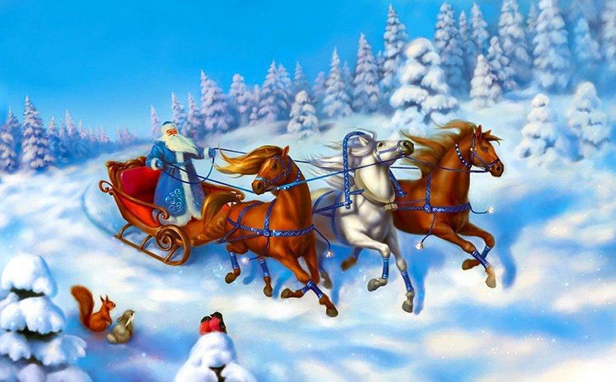 Дед Мороз, ты кто И зачем1