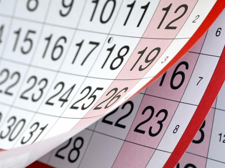 Календарь рабочих и праздничных дней на новый 2018 год
