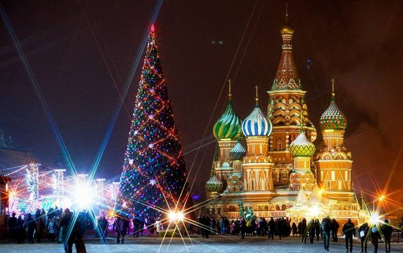 Afbeeldingsresultaat voor новый год в россии