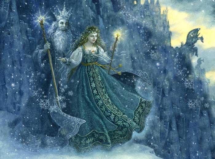 Самая известная внучка - Снегурочка1