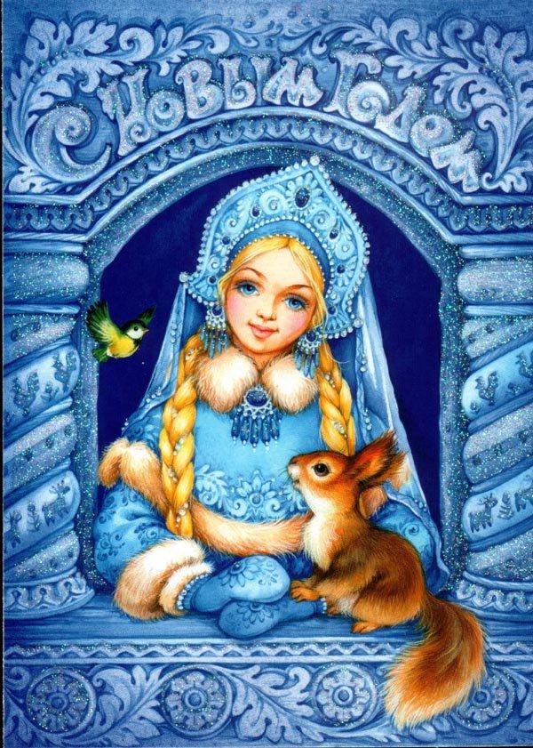 Самая известная внучка - Снегурочка2