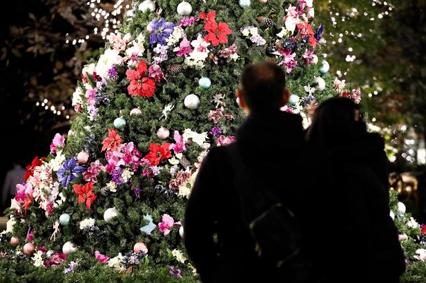 Annual Christmas Illumination in Tokyo Marunouchi area