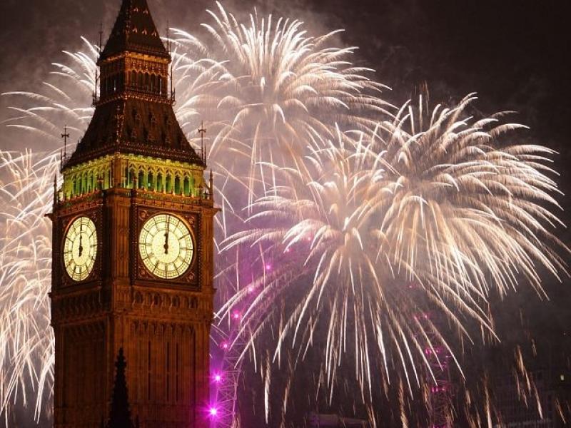 Национальные особенности английского Нового года