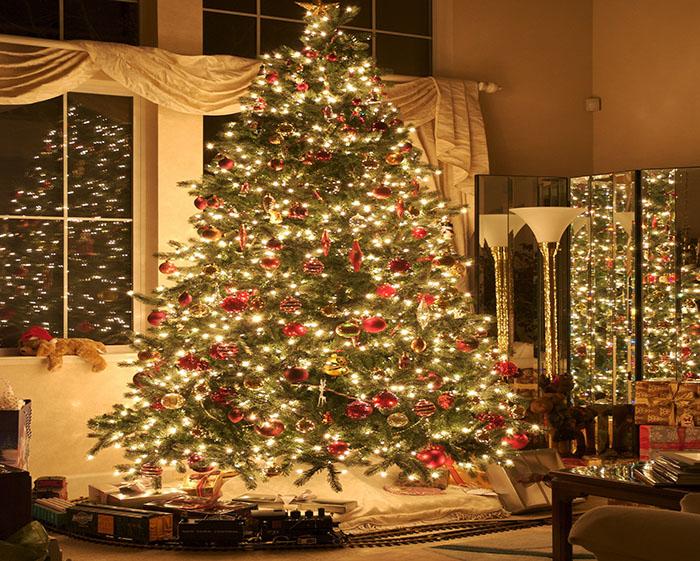 Год Собаки украшаем новогоднюю ёлку правильно3