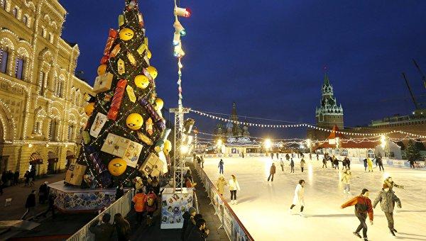 Новый 2018 год в сердце российской столицы – Москвы.2
