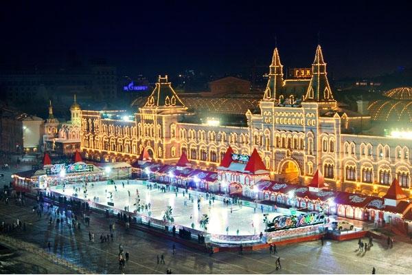Новый 2018 год в сердце российской столицы – Москвы.3