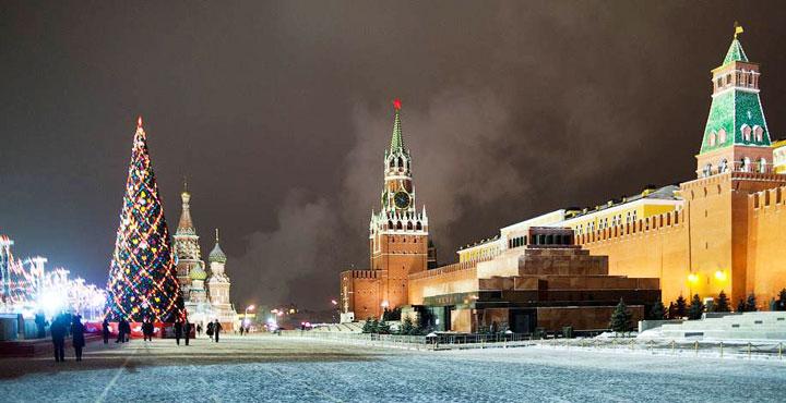 Новый 2018 год в сердце российской столицы – Москвы.4