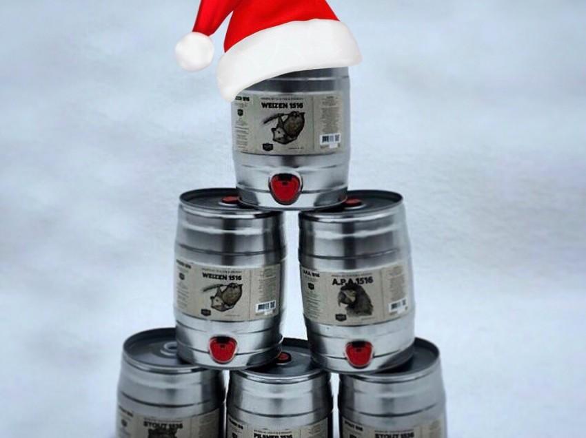Авторское пиво от ресторана «ПАБ 1516» на Новый год!