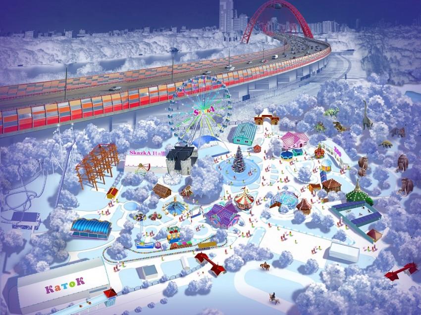 Новогоднее предложение для корпоративов от Семейного парка развлечений «Skazka»