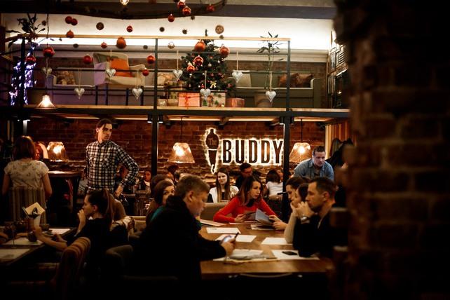 Новогодние корпоративы от «The Buddy Cafе»: сборные и душевные