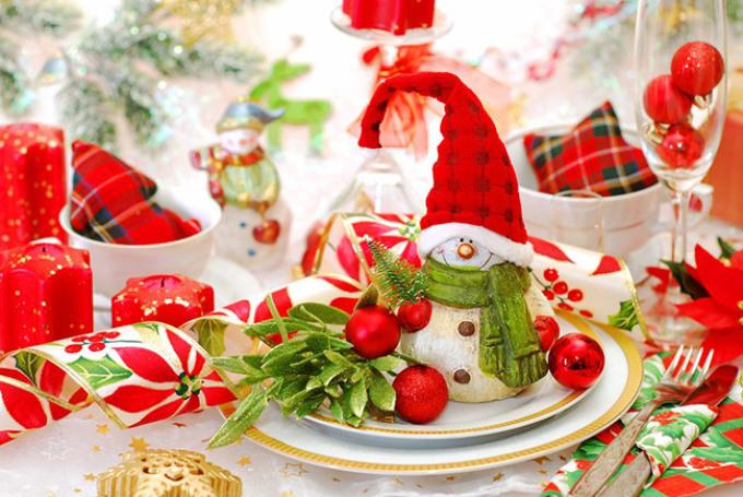 Год Жёлтой Земляной Свиньи накрываем праздничный стол2