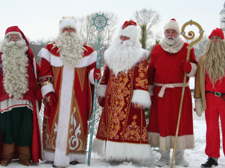 Дед Мороз и его ближайшие родственники1
