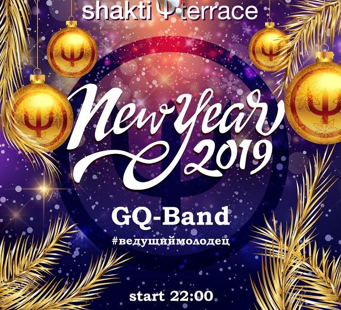 Новый год в «Shakti Terrace»