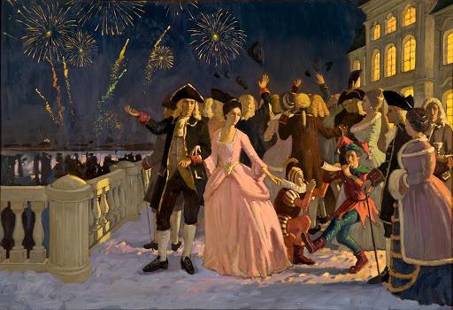 Императорские праздники на Рождество — прообраз новогодних корпоративов