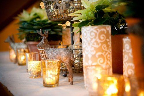 Красивые венки на новый год своими руками