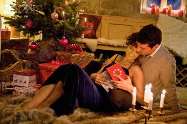 Романтично отметить новый год
